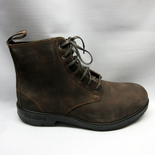 62688b1b7434 Blundstone Boots 1450 Lined Lace-up in Rustic Brown — Cabaline