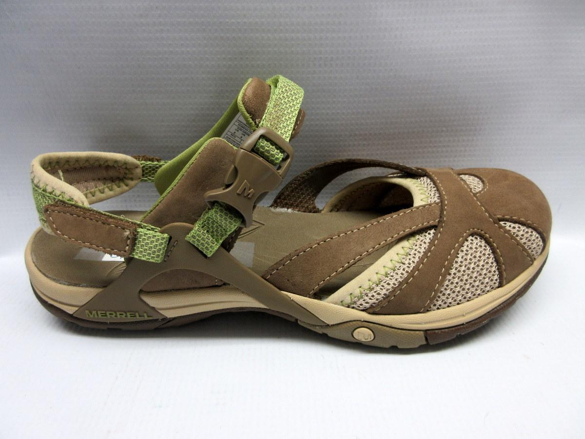 b80886a39 Merrell Sandals Women Azura Wrap in Otter Size 8 — Cabaline
