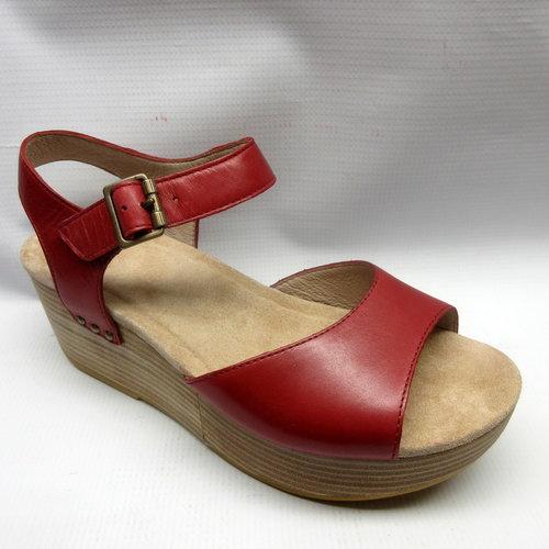 52fc6c91dba Dansko Sandals Women Silvie in Red Size 38 — Cabaline