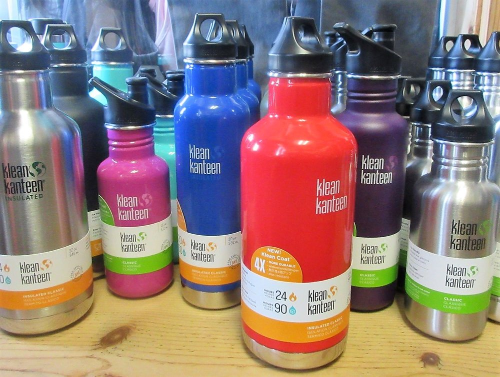 Kleen Kanteen - A water vessel to match your outfit is within your grasp with this variety of Kleen Kanteens.