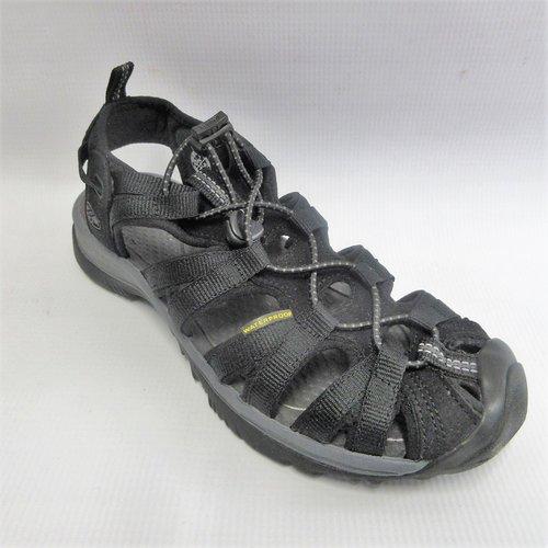 7a3a8ade08d6 Keen Sandals Women Whisper in Black-Magnet — Cabaline