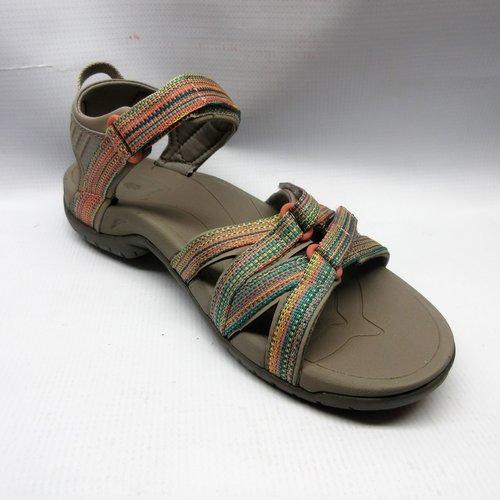 f47e8f899a0f Teva Sandals Women Tirra in Taupe Multi Size 8 — Cabaline
