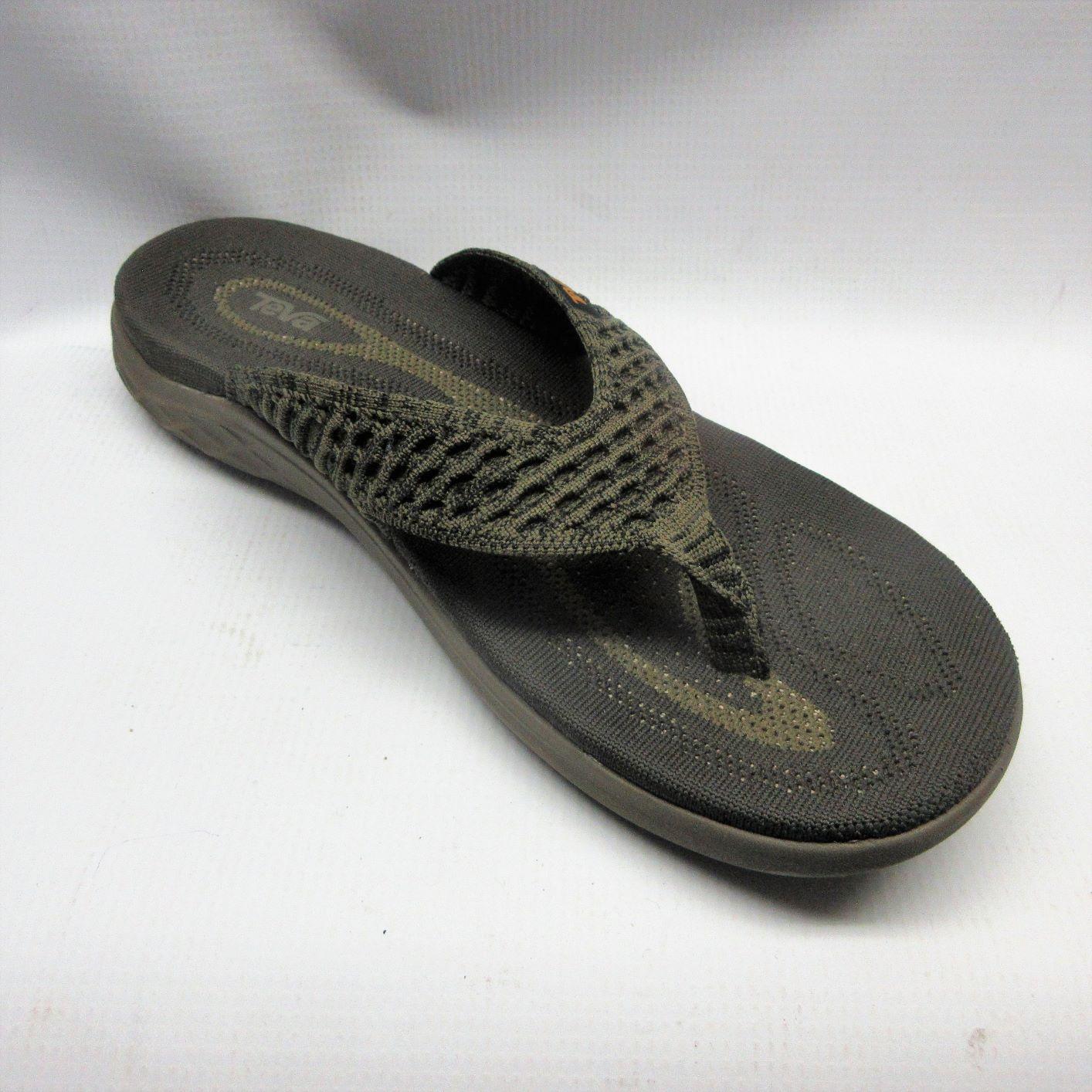 bc88a2000 Teva Sandals Men Terra Float Knit Flip in Olive Size 9 — Cabaline
