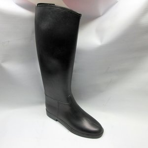 fdaddfa17f20 english-boots-women-rubber-riding-black-size-8-
