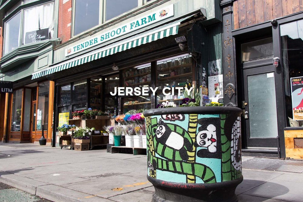 Jersey City - On-the-rise and perfect for young professionals working in Manhattan