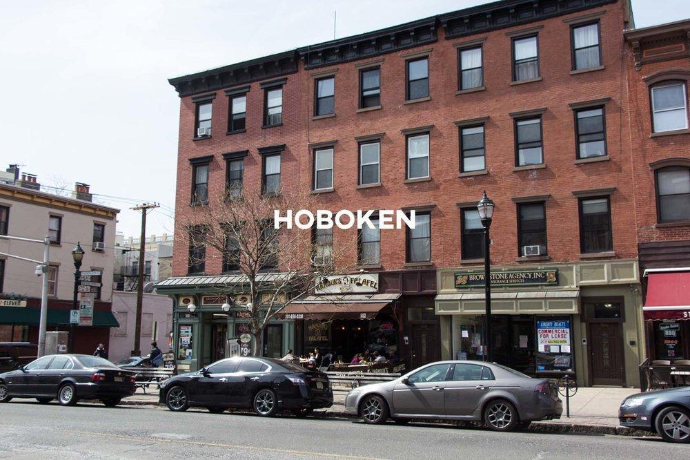 Hoboken - City living just outside of Manhattan