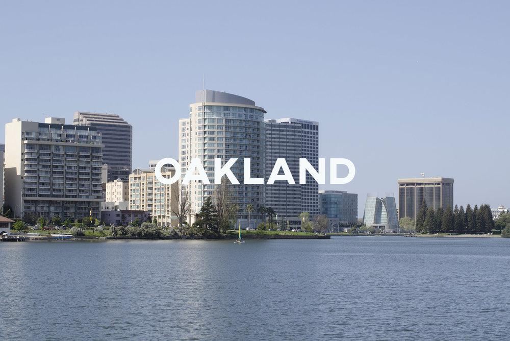 Oakland - A diverse city with an abundance of activities