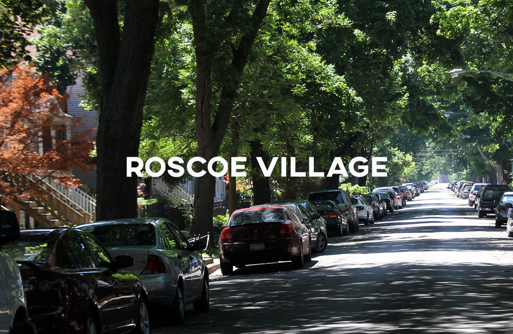 Roscoe Village - Roscoe Village is quaint, peaceful, and family oriented