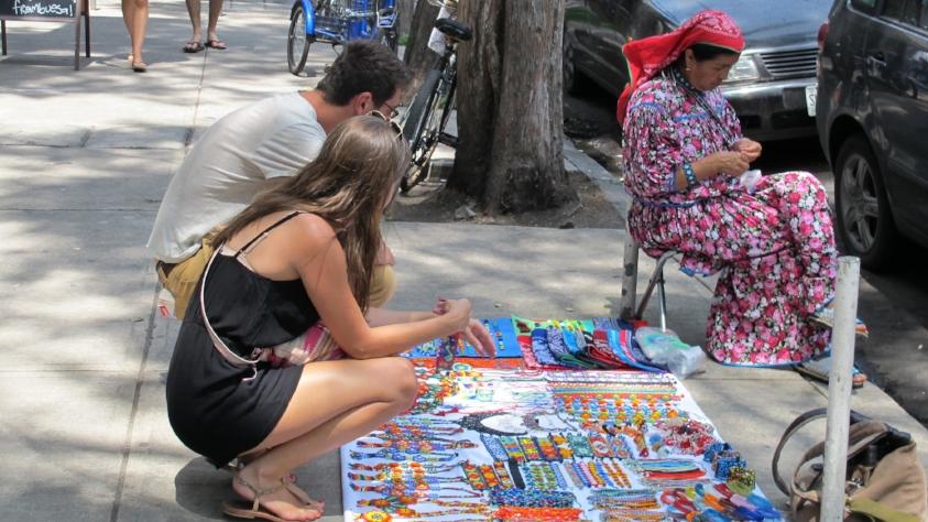 A street vendor Roma