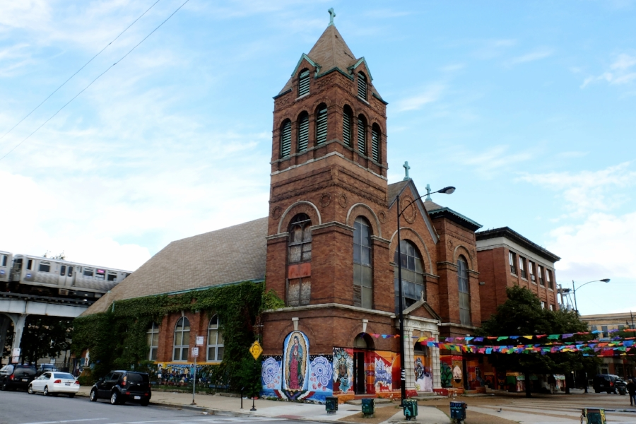 The Chicago Commons Guadalupano Family Center in Pilsen