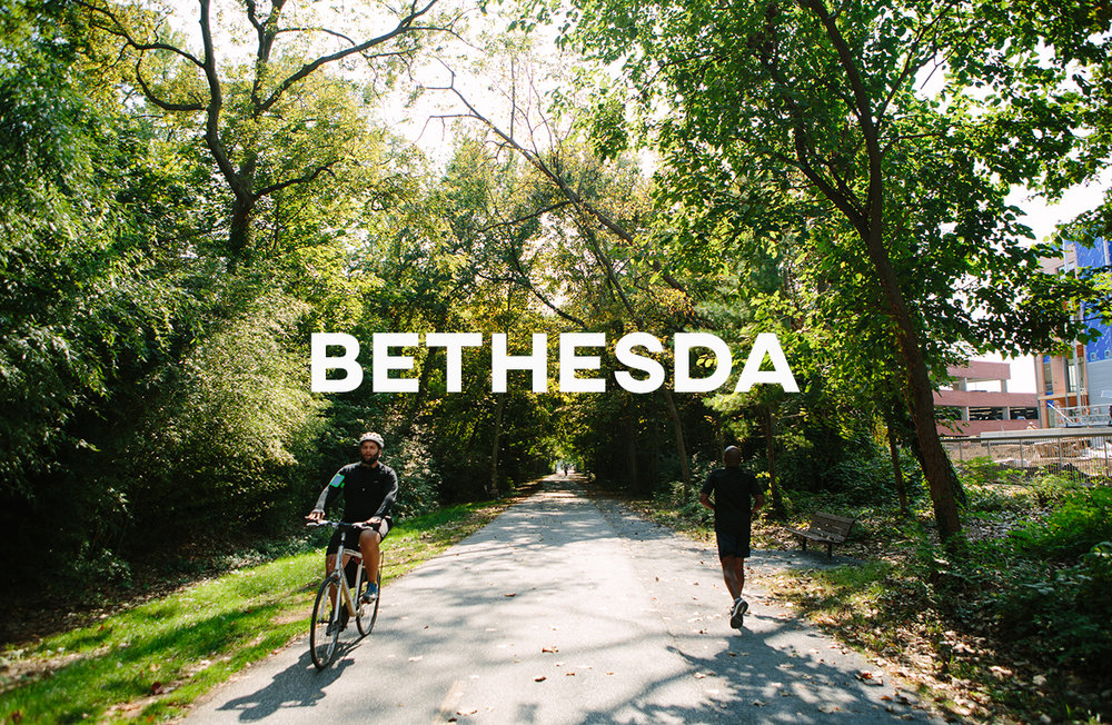 Bethesda - A great walkable suburb with easy access to DC