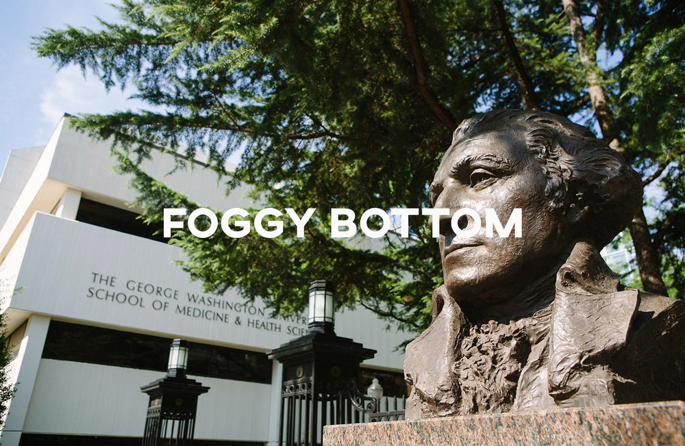 Foggy Bottom / West End - Lovely tree-lined neighborhoods with all the urban conveniences