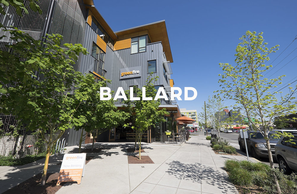 Ballard - Mix of an industrial and maritime past—and an exciting future.