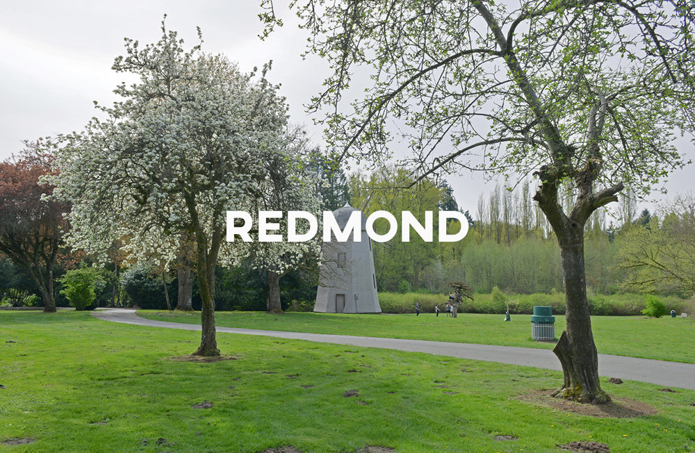 Redmond - The home of Microsoft with a small-town USA feel.