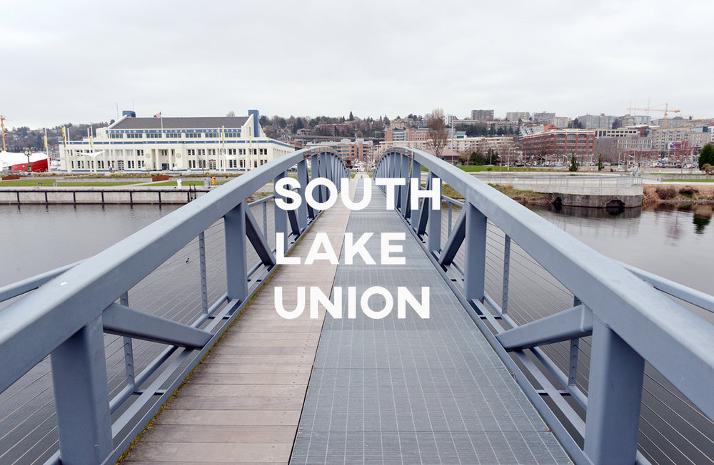 South Lake Union  - The heart of Amazon and biotechnology industries growing up right before us.