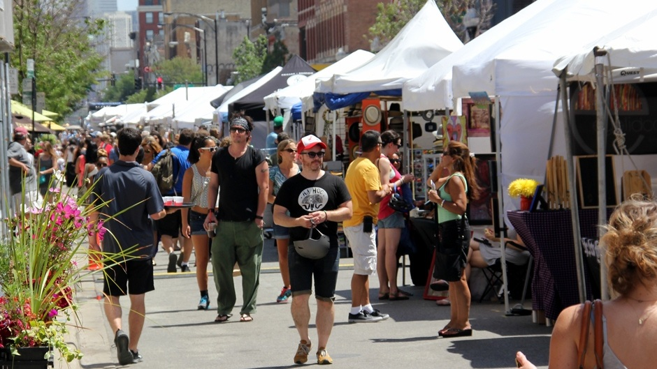 Wicker Park is known for its summer festivals.