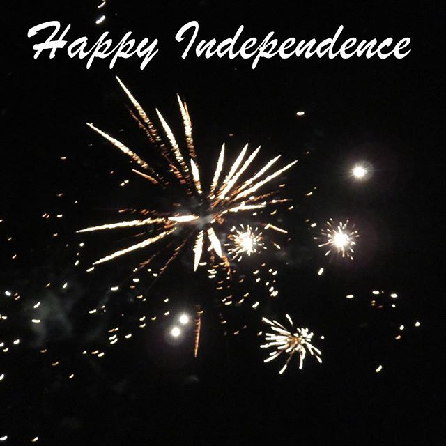 Happy Independence Day! This year our nation is celebrating 241 years of independence! Enjoy the festivities! #independenceday #fourthofjuly #fireworks #celebrate #america #godblessamerica