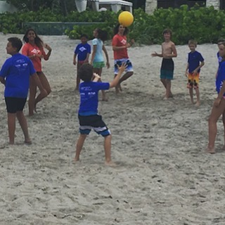 Yesterday we had a fun day of beach games, face painting, and Kona ice, But today we're very excited to get back in the water for another day of surfing and our end of the week pizza party. The water is all clear and it's time to hang ten! #surfing #surfcamp #beachvolleyball #summerfun #ocean #boyntonbeach #local #surfschool