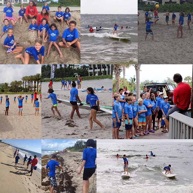 We've had four great weeks of surfing and summer fun, and now we're ready for the last week of Hula Surf Camp! We're looking forward to this final session and we hope you are too! Here's to all the memories so far and plenty more to come! #surfschool #boyntonbeach #local #surfer #surfing #oceanconservation #oceansafety #delraybeach #summercamp #summerfun #summertime