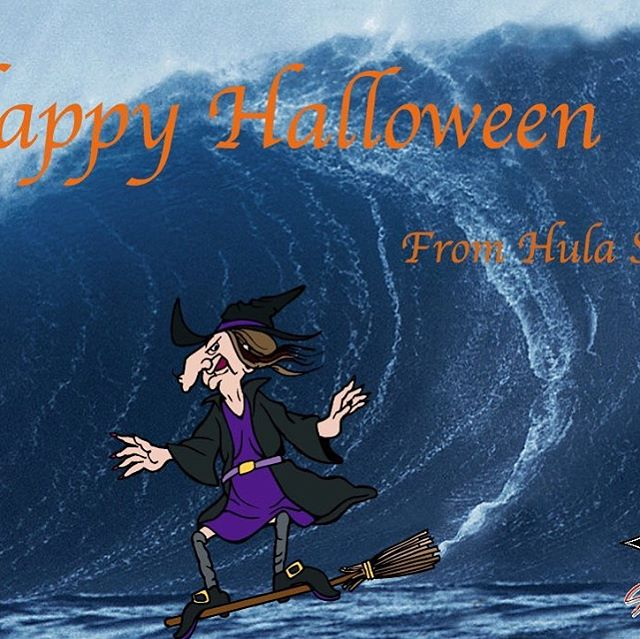 Happy Halloween!  #hulasurfschool #hula #hulasurfandpaddle #catchawave #wave #ocean #surf #halloween #happyhalloween