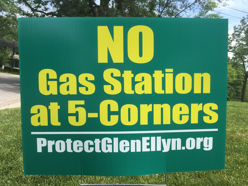 NO Gas Station at 5-Corners ProtectGlenEllyn.org