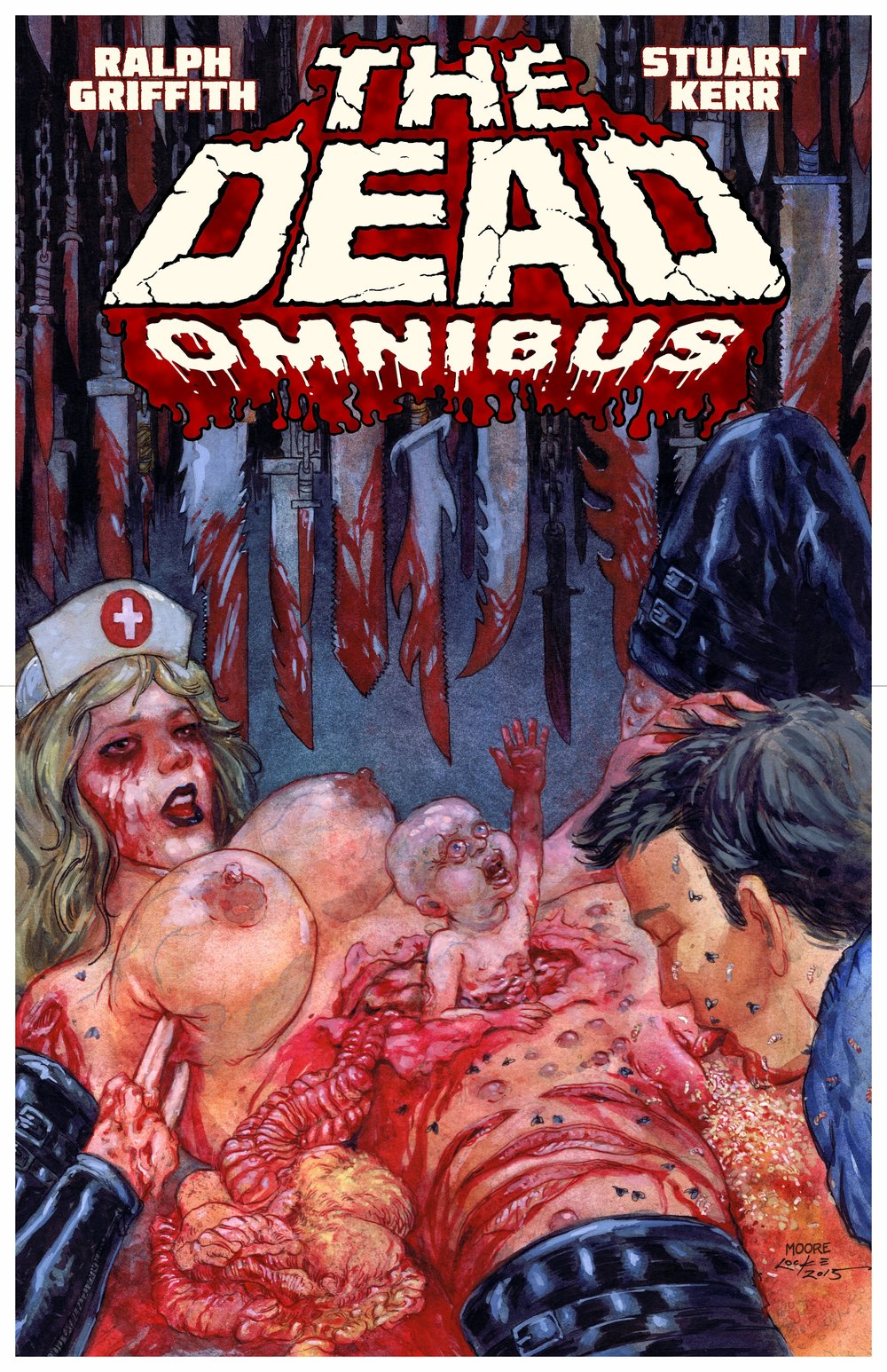 FRONT COVER THE DEAD-OMNIBUS