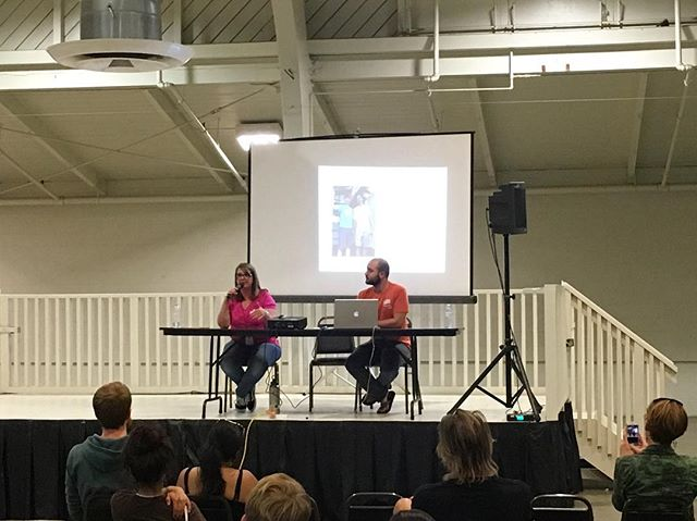 Had a great time speaking at TinyFest California! We got to see some incredible tiny houses and connect with some tiny house experts!