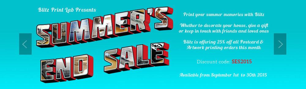 Blitz Summer Sale Banner