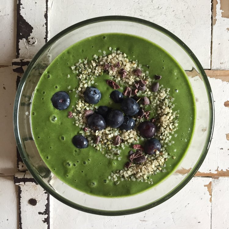 Ultimate Green Smoothie Bowl
