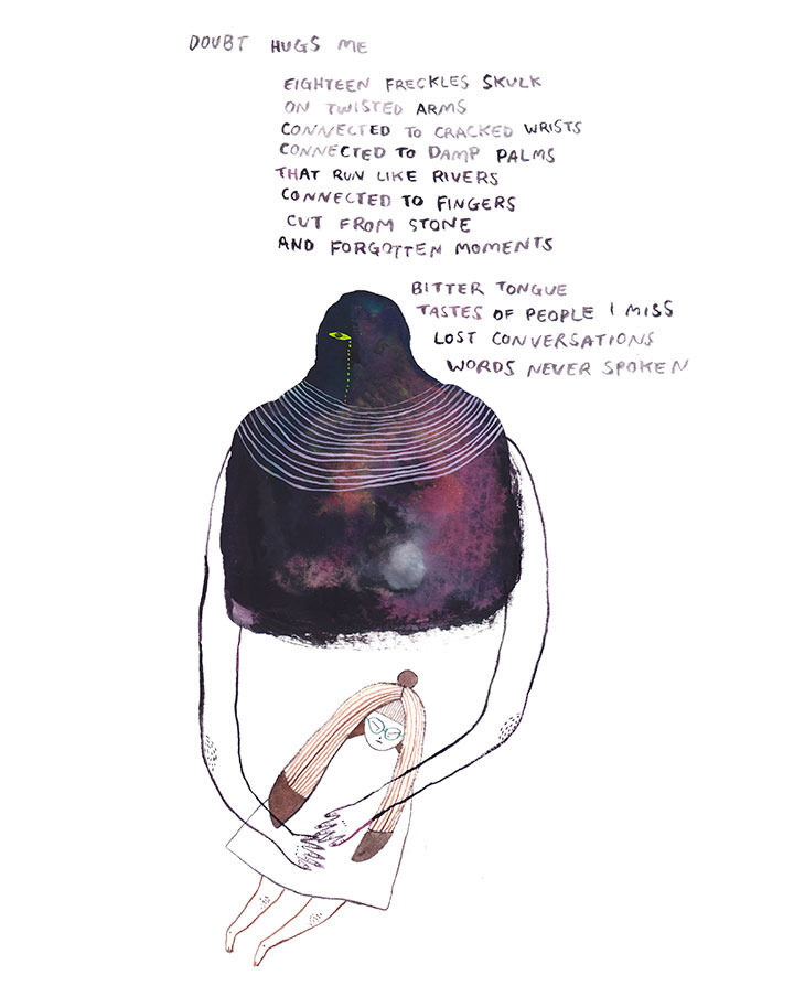 Illustration for Poetry Magazine