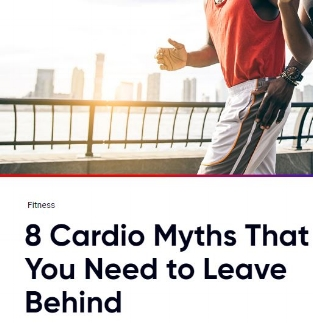 AAPTIV: 8 Cardio Myths That You Need to Leave Behind   Make the most out of your cardio workouts by getting your facts straight.  Read the  full piece here .
