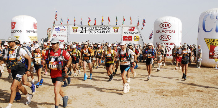 Marathon Des Sables (2003, 2006).  Enjoyed the worlds toughest footrace so much I went back!