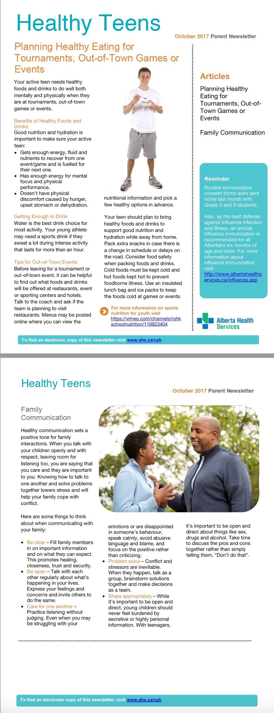AHS Newsletter Oct 2017 - Health Teens.jpg