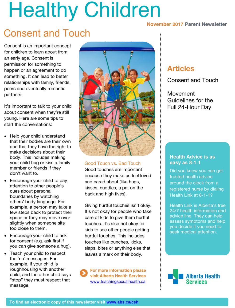 Healthy Children Page 1