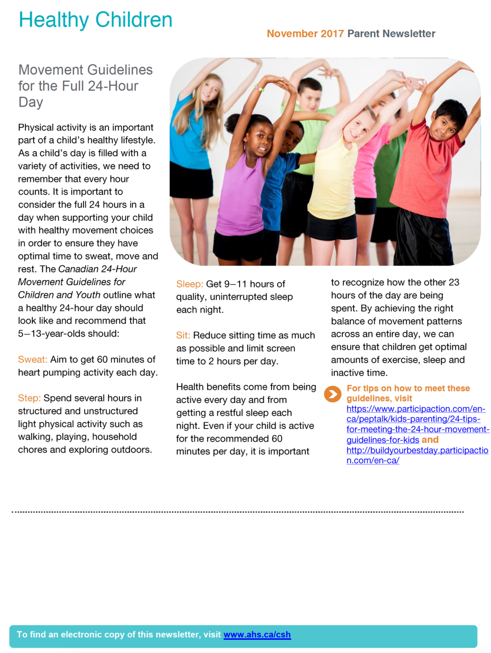 Healthy Children Page 2