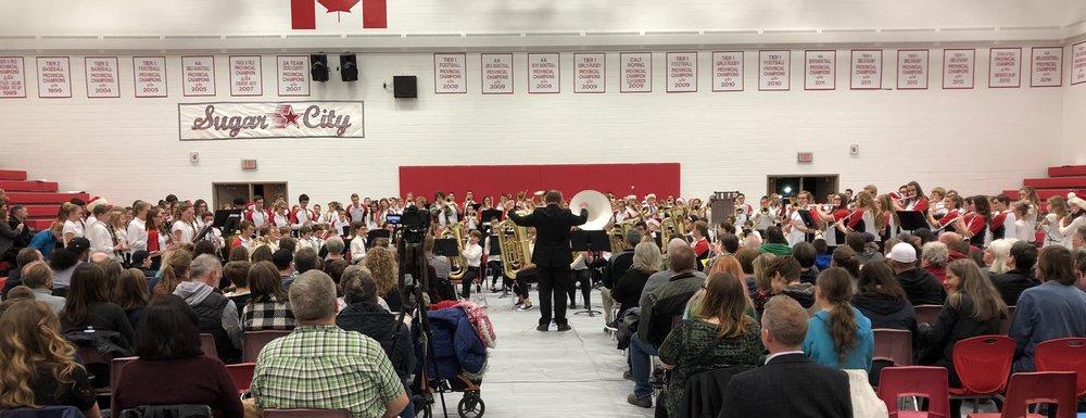 Raymond Schools Christmas Band Concert