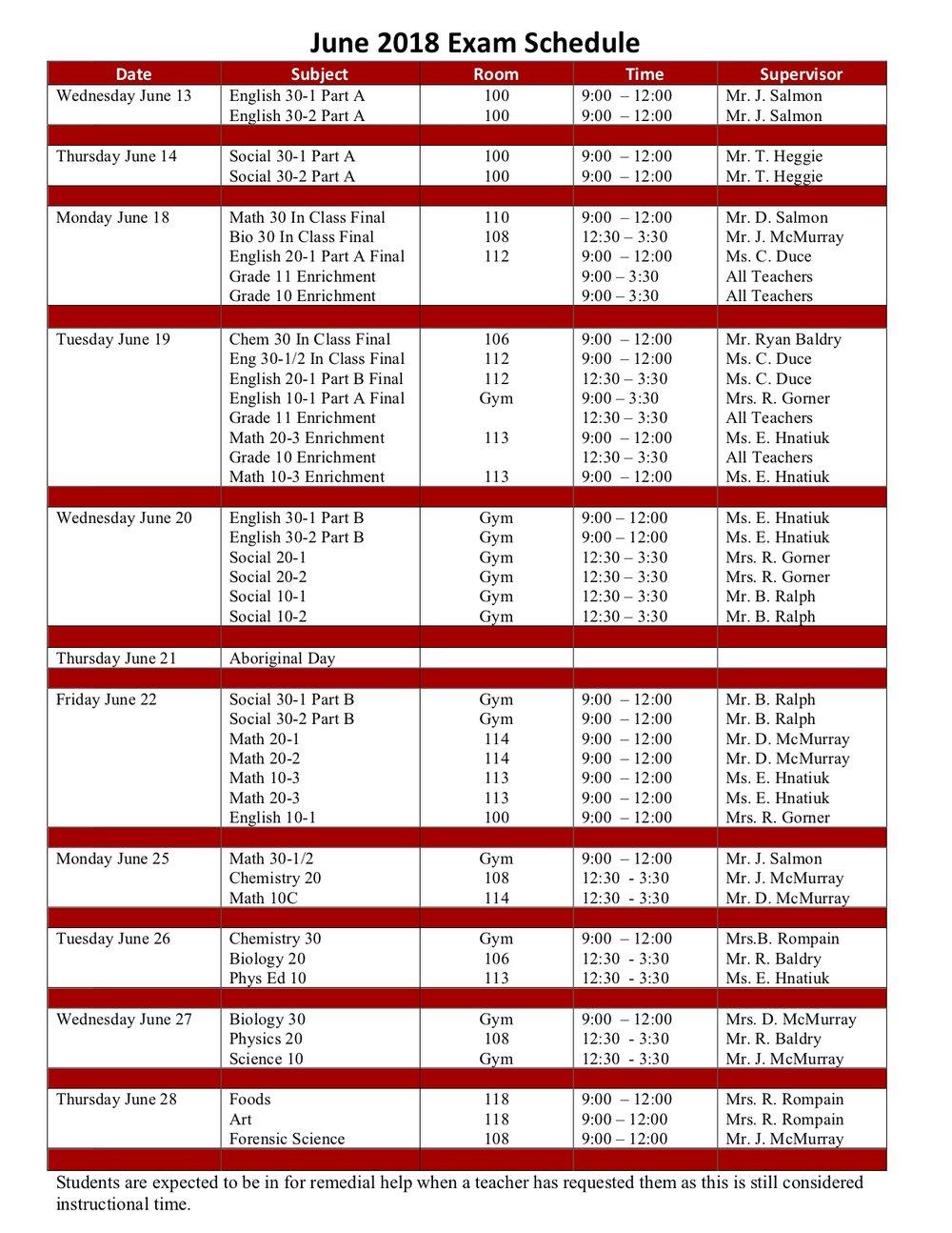 June 2018 Final Exam Schedule.jpg