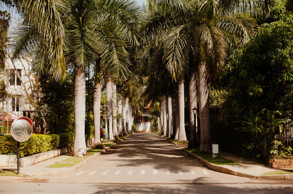 Ramya's neighborhood.