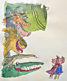 illustration, Sir Quentin Blake