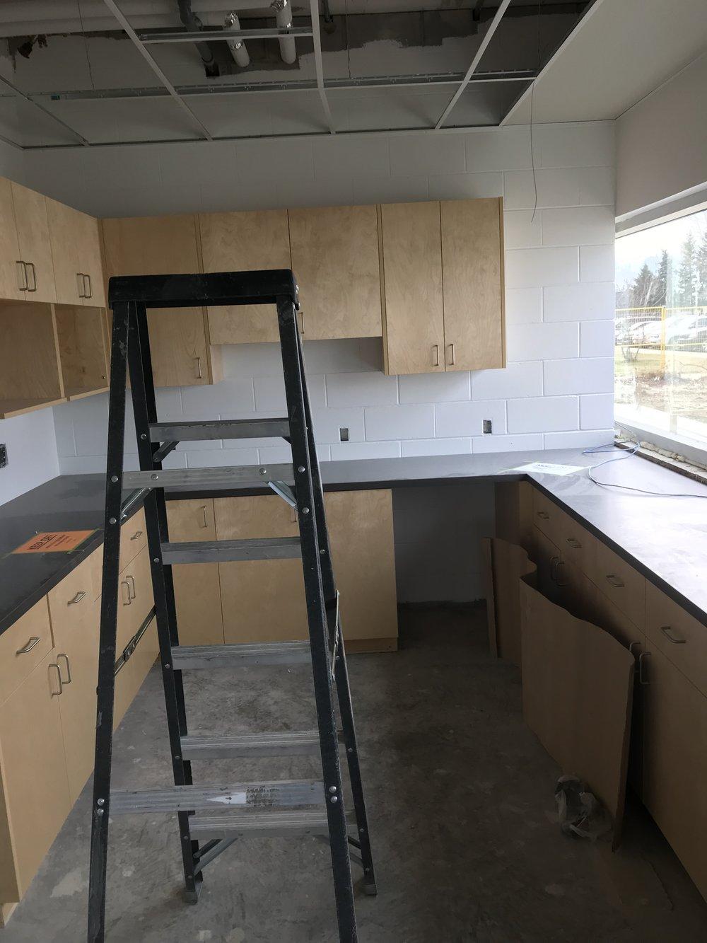 - Staffroom Kitchen