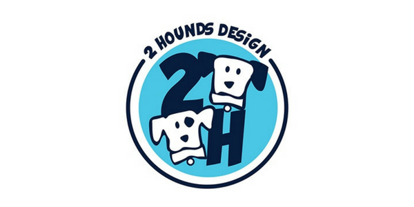 2 Hounds Design Logo - Fur the love of pets leashes and harnesses - Bergen County, NJ.png