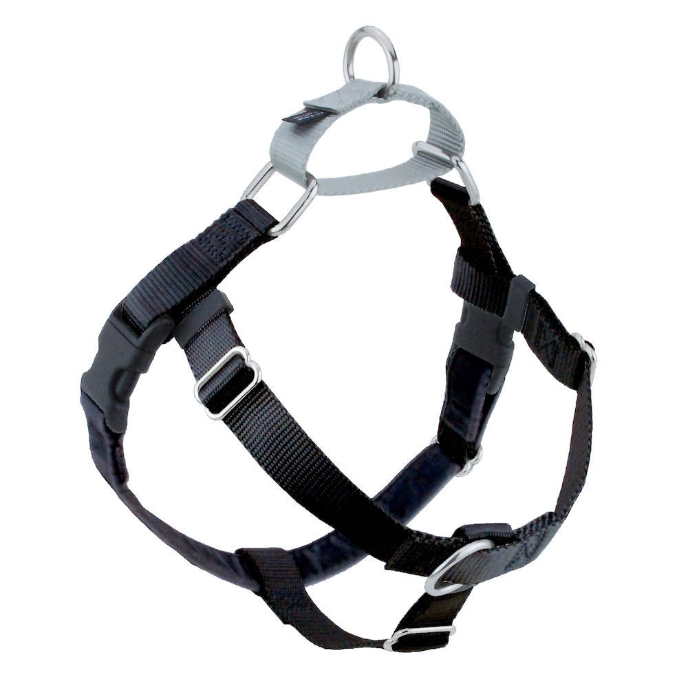 Black with Silver Freedom no pull harness.jpg