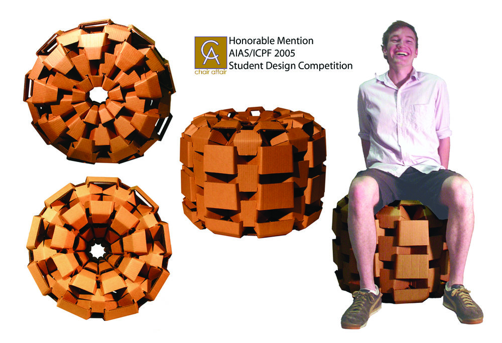 NoCa - Notched Cardboard Chair