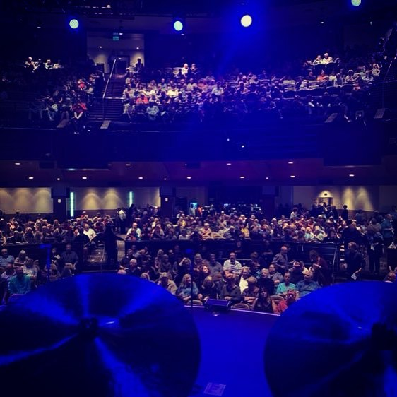 Pat's DrumCam from last night's sold-out show at Wild Horse Pass in Chandler, AZ