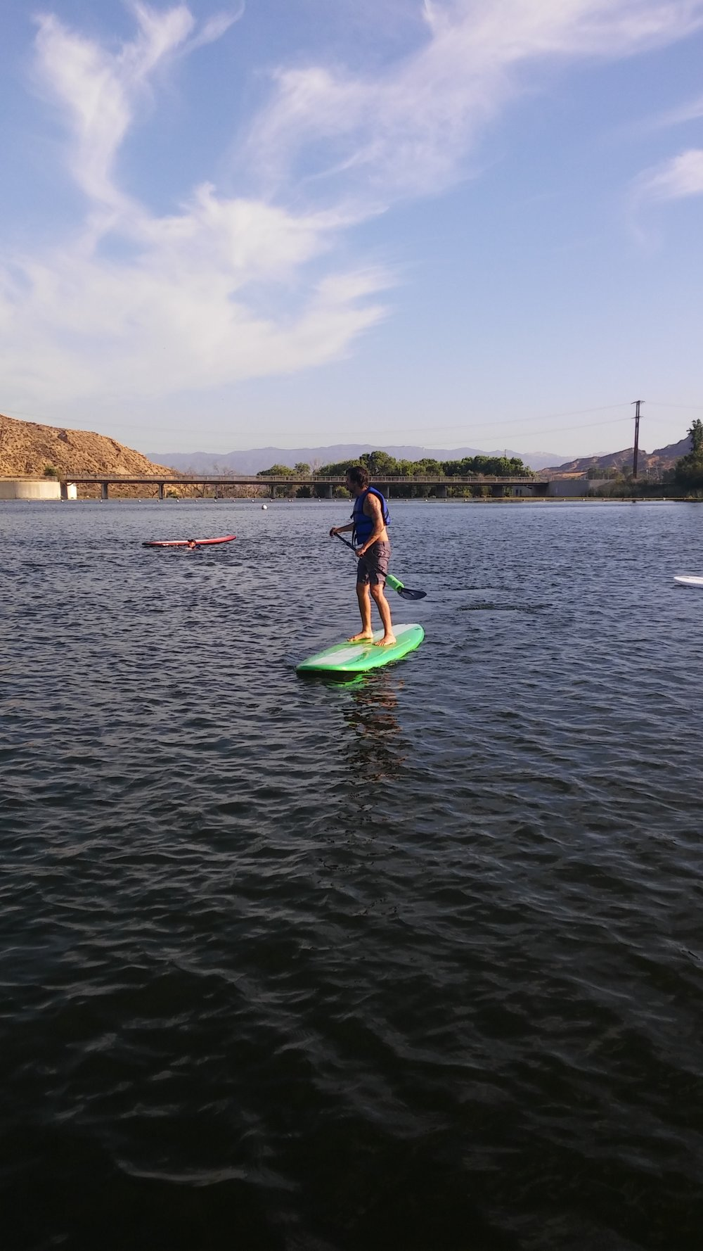 Enhancing our recovery with a little SUP