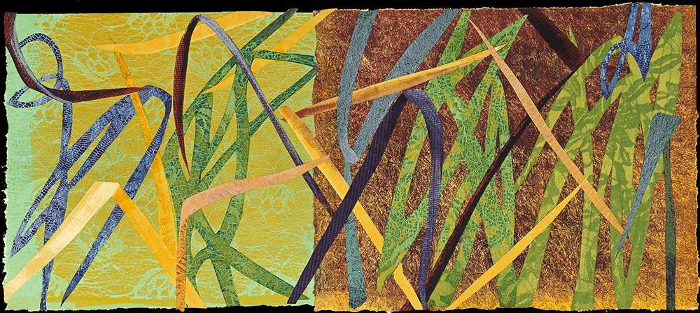 Grasses 16 x 40 inches