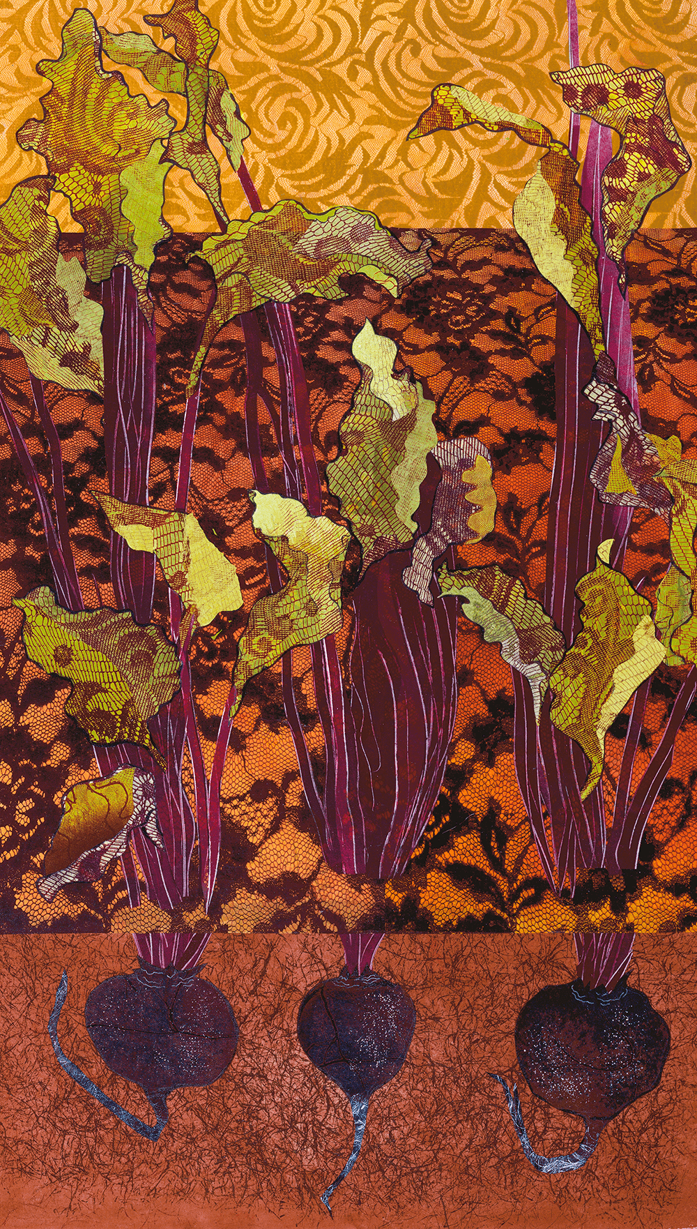 Beets 16 x 28 inches