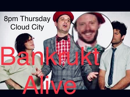 This Thursday. We're back at it again. 8pm @thecloudcity in Williamsburg.