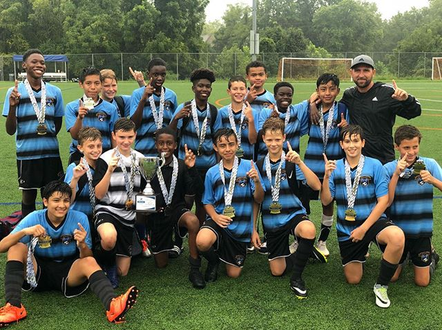 Starting of the year righ 🏆🥇🏆... #UnitedPhillySoccer #KickoffClassic #huntingseason #phillysoccer #citykids #spiritunited