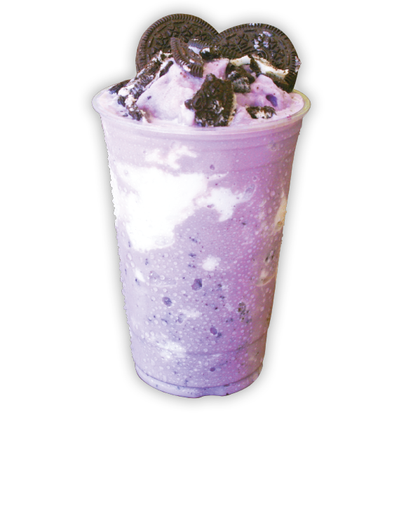 Purple Oreo - America's favorite cookie meets Taro! our Asian spin on cookies and cream.